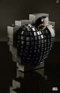 Bertrand GREGOIRE - Sculpture-Volume - Bomb Pix 2