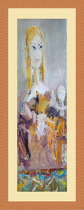 Levan URUSHADZE - Peinture - Blond's portrait