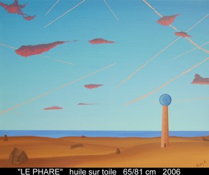Boris KHELSTOVSKY - Painting - Le phare