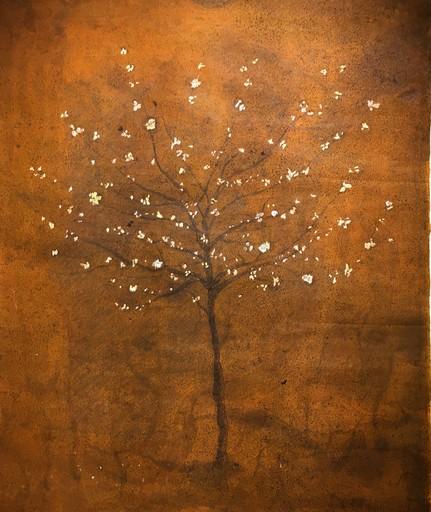 Frédéric COURAILLON - Dessin-Aquarelle - Arbre en fleurs