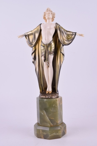 Johann Philipp PREISS - Escultura - Spring Awakening