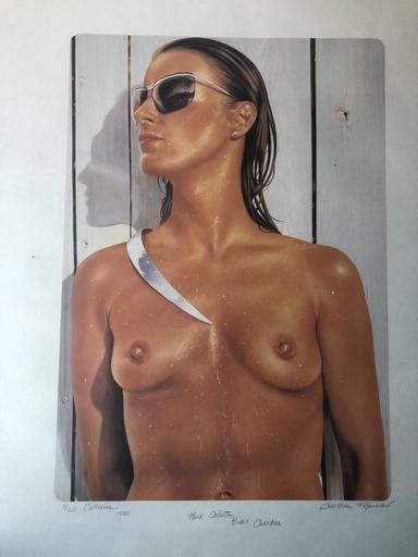 Christine FROMENTIN - Peinture - catherine 8/100