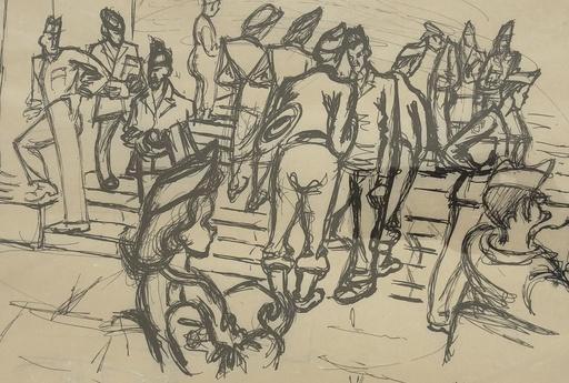Felicia PACANOWSKA - Drawing-Watercolor - La libération