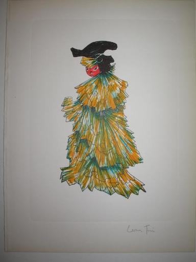 Leonor FINI - Print-Multiple - Le chat en robe du soir,1973.
