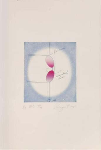 James ROSENQUIST - Estampe-Multiple - Water Lily
