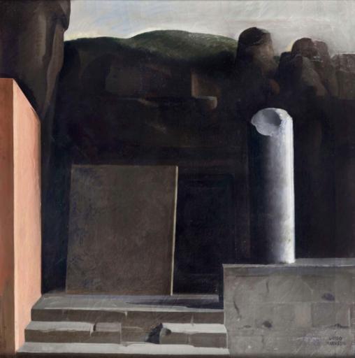 Guido MARUSSIG - Gemälde - Tomba antica (1934 ca.)