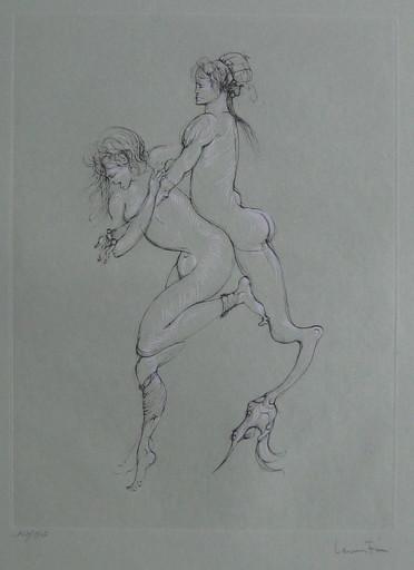 Leonor FINI - Estampe-Multiple - GRAVURE ÉROTIQUE SIGNÉE AU CRAYON NUM/290 HANDSIGNED ETCHING