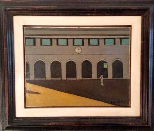 Giorgio DE CHIRICO - Gemälde - L'ENIGMA DELL' ORA