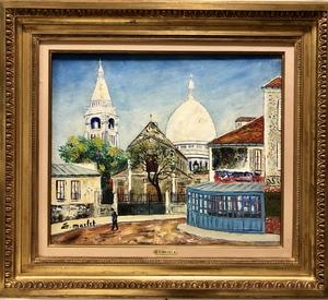 Élisée MACLET - Peinture - Montmartre