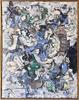 Alexandre ISTRATI - Painting - Composition Bleu