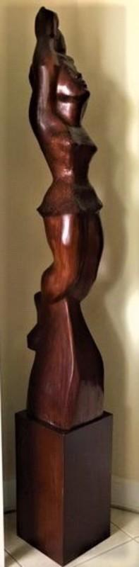 """Chaim GROSS - Sculpture-Volume - """"Aerialist"""""""