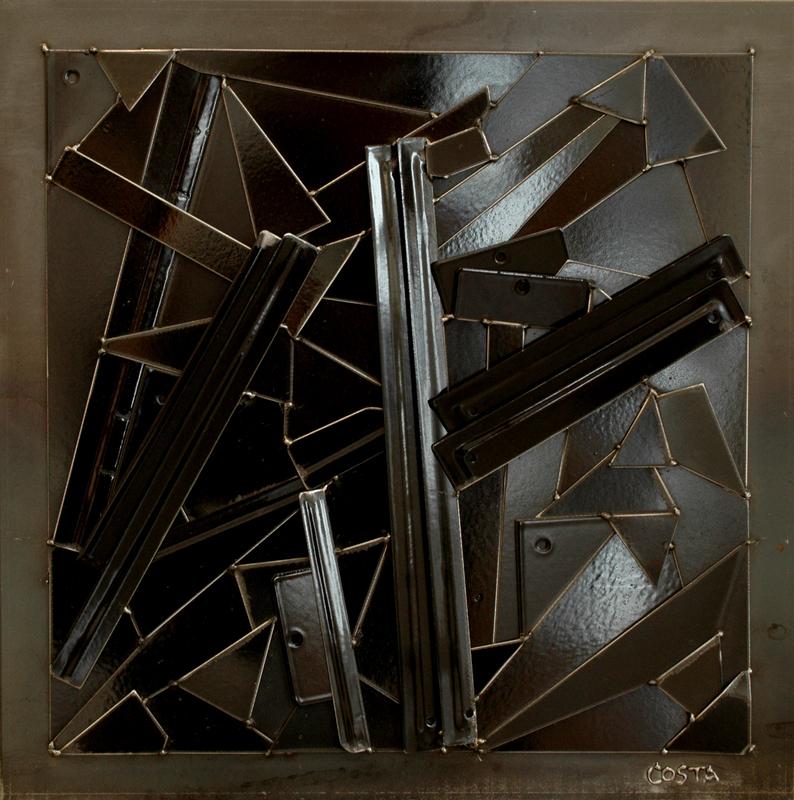 Fernando DA COSTA - Sculpture-Volume - Monochrome Noir