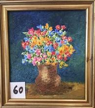 Raymonde AUBRY - Painting - Miniature