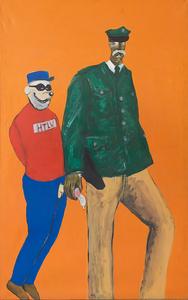 ENDART - Painting - Der Intimbereichsbeamte