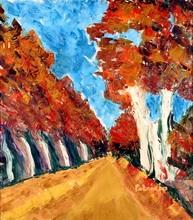Patricia ABRAMOVICH - Gemälde - Between the Trees