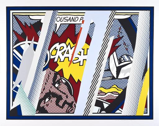 Roy LICHTENSTEIN - Stampa Multiplo - Reflections on Crash, from the Reflections Series