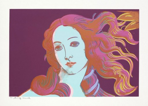 Andy WARHOL - Stampa-Multiplo - Birth of Venus