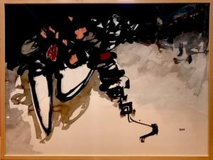Pierre IGON - Drawing-Watercolor - Abstraction