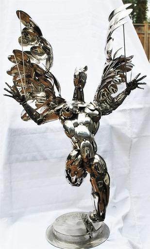 Ilic BOBAN - Sculpture-Volume - Icarus