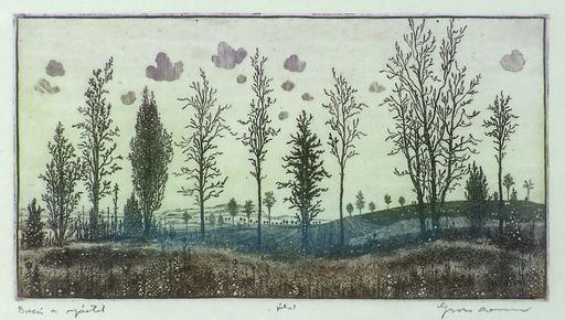 Arnold GROSS - Druckgrafik-Multiple - Countryside