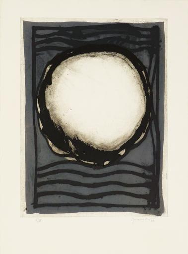 Joan HERNANDEZ PIJUAN - 版画 - Rosa Blanca