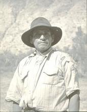 Martín CHAMBI - Fotografia - Cusco ( man with hat)