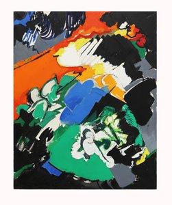 Maurice WYCKAERT - Painting - La pesanteur et la grâce