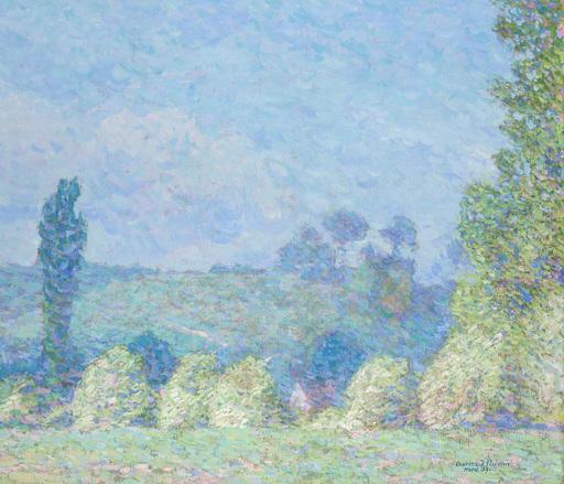 Charles Johann PALMIÉ - Peinture - Frühlingslandschaft