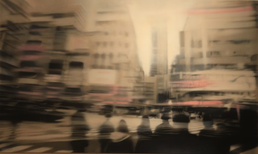 Jean-Marc AMIGUES - Painting - Tokyo 3