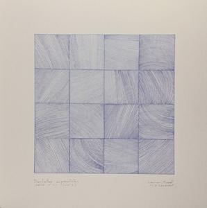 Alain-Jacques LEVRIER MUSSAT - Drawing-Watercolor - 3 dentelles suprématistes