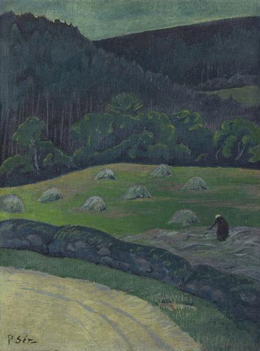 Paul SÉRUSIER - Pintura - Paysanne au champ