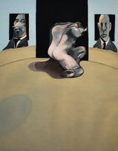 弗朗西斯•培根 - 版画 - Central Panel, from: Triptych 1974-1977