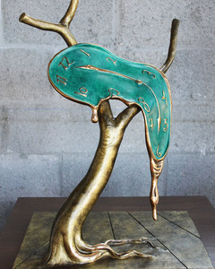 Salvador DALI - Sculpture-Volume - Profile of Time