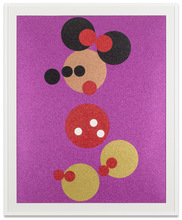 Damien HIRST - Estampe-Multiple - Minnie Glitter (Large)