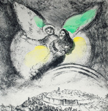 Marc CHAGALL - Estampe-Multiple - God Will Have Pity on Jacob