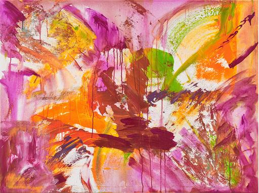 Ursula SCHREGEL - Peinture - Purple rain