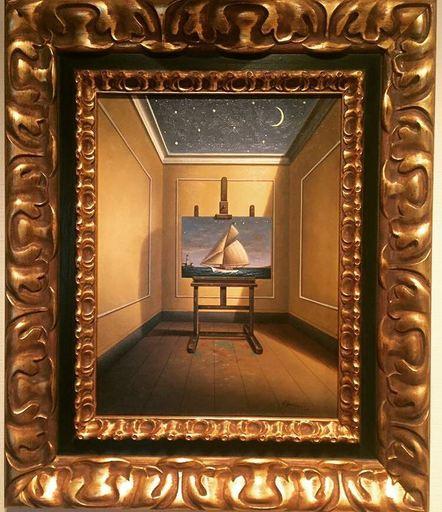 Antonio NUNZIANTE - Painting - Lontano da qui