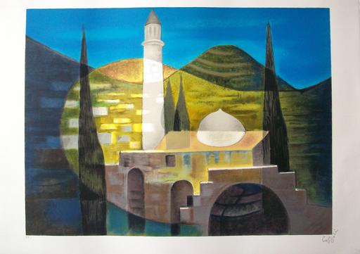Louis TOFFOLI - Grabado - Jérusalem