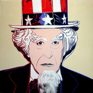 Andy WARHOL, MYTHS: UNCLE SAM FS II.259