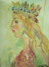 Walter SPITZER - Pintura - Queen Ester (La Reine)
