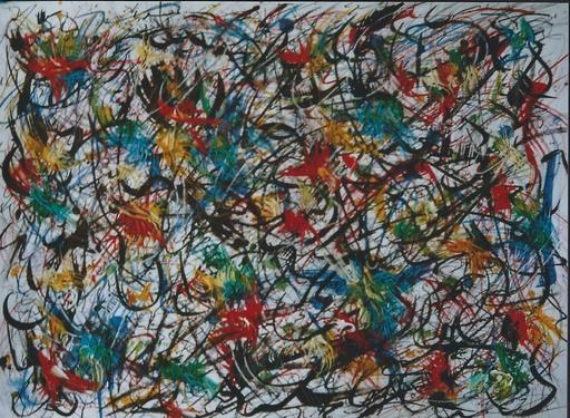 Didier ANGELS - Peinture - Tumulte