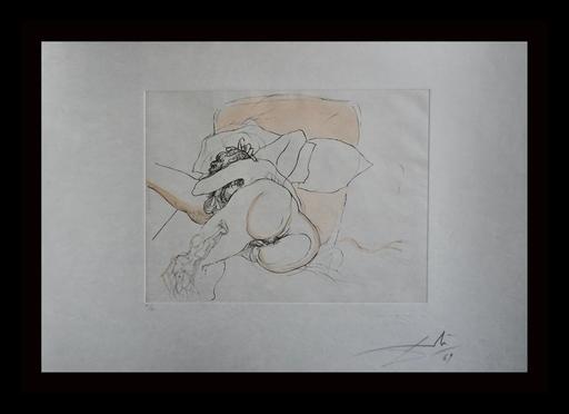 萨尔瓦多·达利 - 版画 - Le Repos du Guerrier