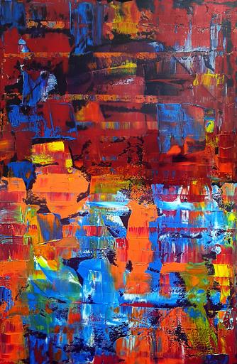 Patrick JOOSTEN - Peinture - Joy