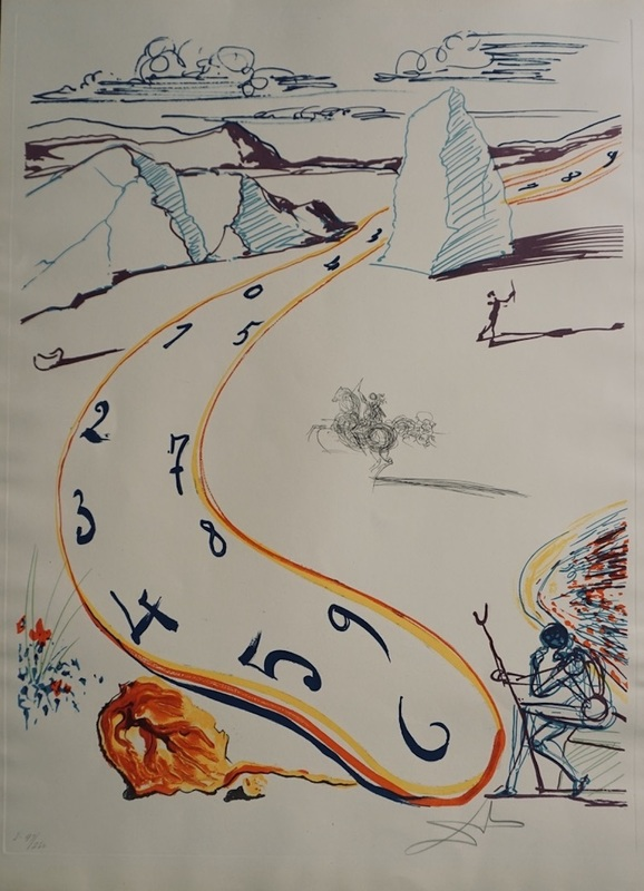 Salvador DALI - Stampa-Multiplo - Imaginations & Objects of the  Future Melting Space Time