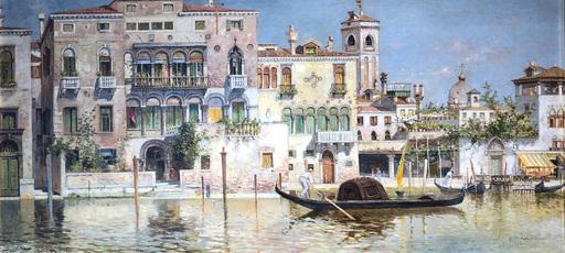 Egisto MASSONI - 绘画 - Venezia