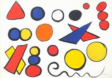 Alexander CALDER - Estampe-Multiple - Boules et triangles