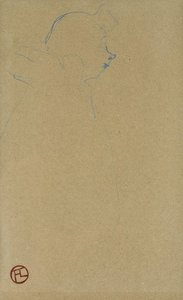Henri DE TOULOUSE-LAUTREC, Profile of a clown