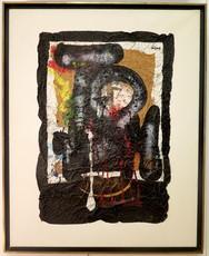 Ladislas KIJNO - Painting - sans titre