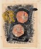 Mark TOBEY - Disegno Acquarello - Senza titolo