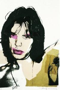 Andy WARHOL - Print-Multiple - Mick Jagger